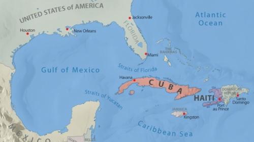 Si Cuba o Haití cayeran bajo el control de una potencia hostil a los intereses de Estados Unidos, podría inclinarse la balanza del poder mundial.