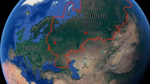 Rusia, el gran país al norte de Israel