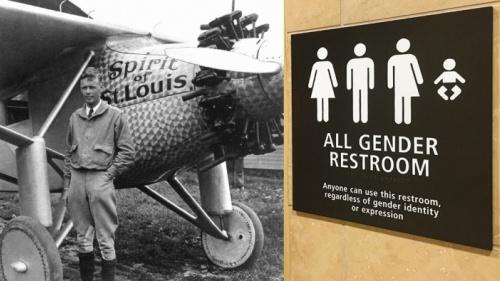 ¿Qué pensaría  Charles Lindbergh?