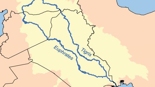Lo único seguro de la posición geográfica de Edén es que se encontraba en algún lugar cerca de los ríos Tigris y Éufrates.