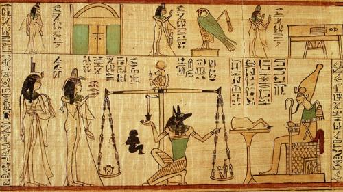 El Tribunal de Osiris – El Juicio a los muertos.