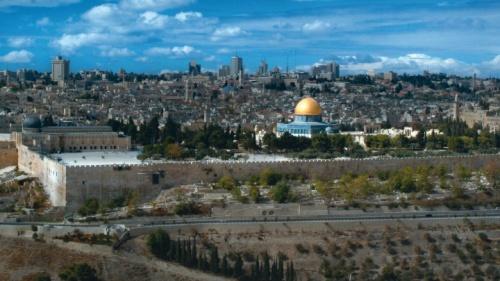 El Monte del Templo en Jerusalén