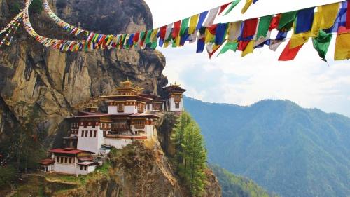 Monasterio del Nido del Tigre en Bután