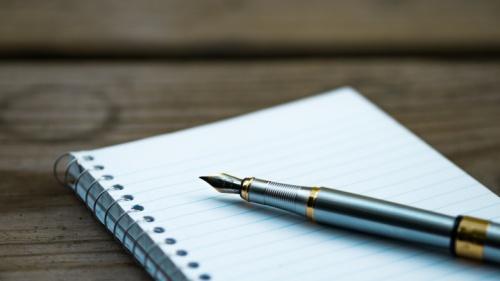 Las palabras (que son la tinta de la carta) habladas e inspiradas por Dios deben ser escritas en nuestros corazones.