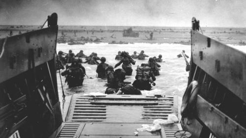 El desembarco de Normandía -el Día D- fue la invasión anfibia más grande no solo de la Segunda Guerra Mundial, sino de toda la historia.