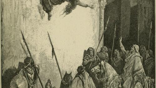 Muerte de Jezabel
