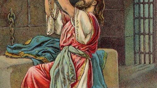 Manasés se arrepiente y le ruega a Dios por el perdón.
