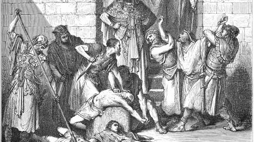 """A Sedequías le sacaron los ojos"""" (2 R 25:7). Era una ley asirio-babilónica para los traidores"""