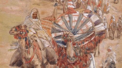 La Biblia nos cuenta que Abraham fue un hombre rico pero dedicado a Dios. Llegó a la tierra de Canaán con gran muchedumbre.