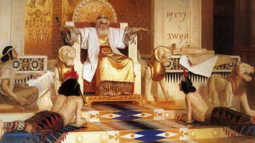 Al final de su vida, rodeado de lujos excesivos y sus 1,000 mujeres, Salomón se hastió de vivir, al dejar a Dios.