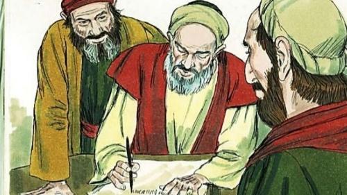Ilustración sobre el concilio de Jerusalén