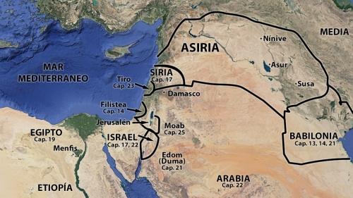 Profecías contra las naciones vecinas de Israel: Isaías 13-24