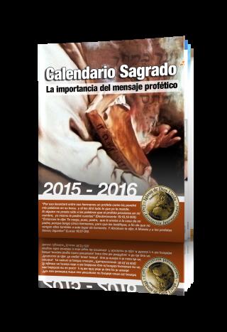 Calendario Sagrado año 2015-2016