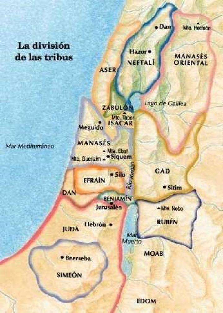 082 Números 27 36 Nombramiento De Josué Repartición De La Tierra Iglesia De Dios Unida