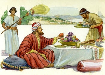 Lázaro y el hombre rico:  Las actitudes y sus consecuencias