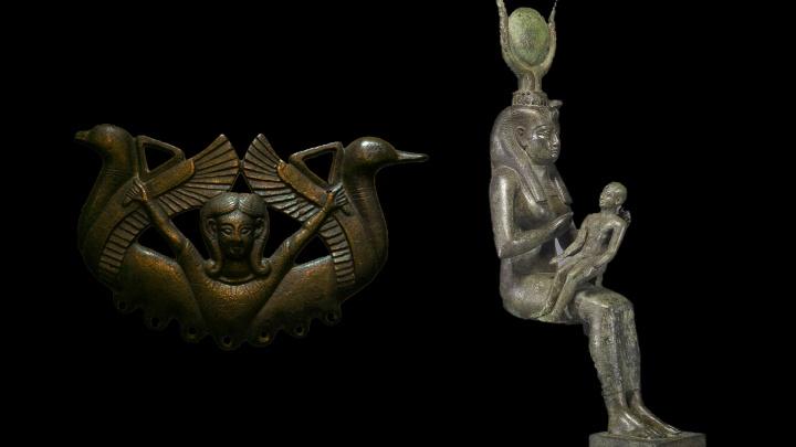 Ejemplos de las Reinas del Cielo: Astarte de los cananeos e Isis de los egipcios